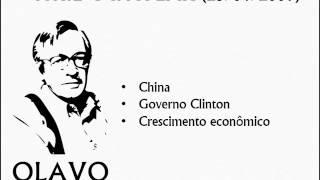 Olavo de Carvalho: China, Governo Clinton, Crescimento econômico, Mao Tse Tung