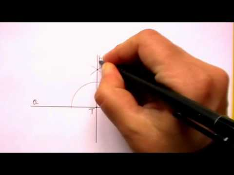 Constructing Perpendicular Lines Using A Straightedge And Compass