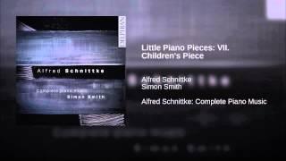 Little Piano Pieces: VII. Children