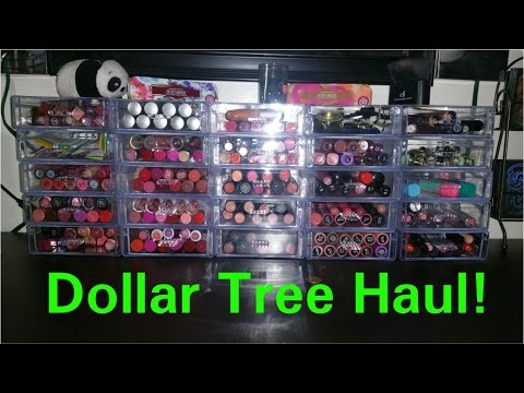 Dollar Tree Haul  Acrylic Organizers, Makeup, Decor