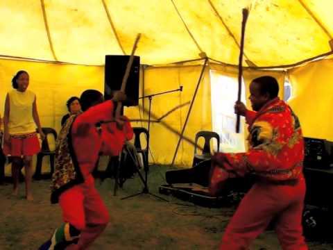 Zulu welcome dance