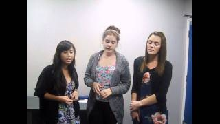 "Portsmouth College students sing the soul classic ""I"