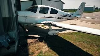 Cirrus SR-22 Hand Propping Accident in Iowa