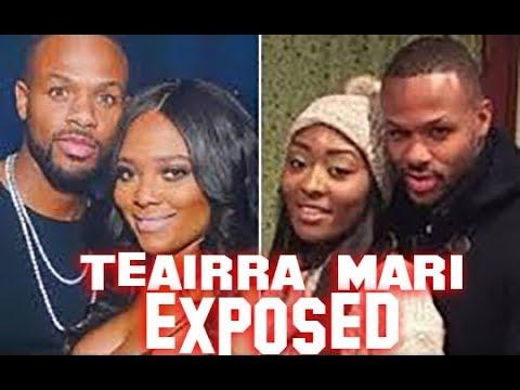 Teairra Mari ex accused of Exposing her He says it was not him