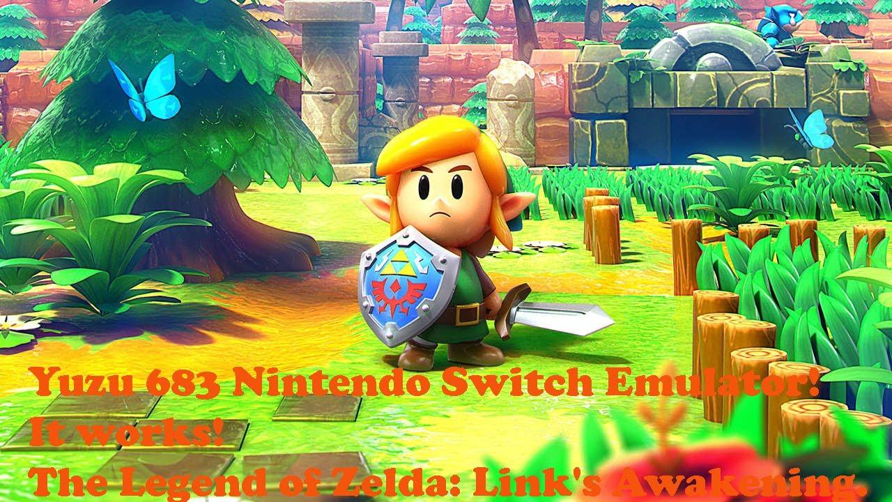 Yuzu 685 Nintendo Switch Emulator!! The Legend of Zelda: Link's Awakening.