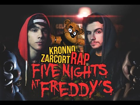 FIVE NIGHTS AT FREDDY´S - KRONNO & ZARCORT | RAP PLAY (Videoclip Oficial)