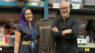 Adam Savage Speaks to an Expanse Graphic Designer!