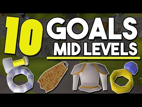 Top 10 Goals for Mid Level Accounts to Work Towards! - #2 - Account Goals for Mid Levels [OSRS]