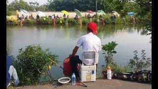 Hội thi câu cá cần tay, cá sông tự nhiên, 100 cần thủ móm trều...
