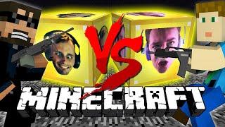 Minecraft: FACES LUCKY BLOCK CHALLENGE   Quick scope Battle!