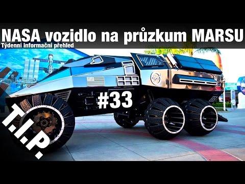 TIP#33 NASA vozidlo na průzkum Marsu, exoplaneta podobná Zemi,