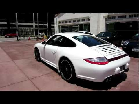 2012 Porsche 997 Carrera GTS 4 Coupe White Black full leather Beverly Hills PDK 408 HP NEW