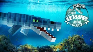 THE MOSASAURUS EXHIBIT! | Minecraft Dinosaurs (Jurassic World Minecraft Part 14) thumbnail