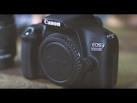 Unboxing Canon EOS 1300D KIT