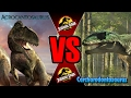 Carchar vs Acro (Hard)| Warpath: Jurassic Park PC (DINOSAUR GAME)| Carlos1416 Dinosaurs