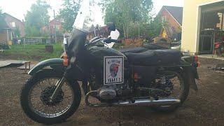 Приключения мотоцикла Урал и Бати. Спасение мотоцикла)