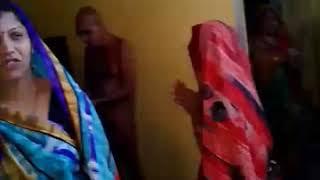 Muni Shri ko Aahar dete huye me & my wife