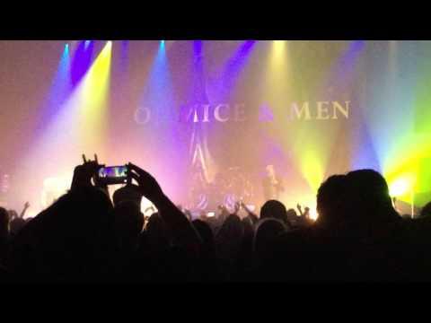 Of Mice & Men Relentless o2 Apollo Manchester 1/10/16
