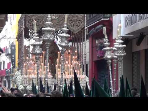Virgen Esperanza Macarena Sevilla | Calle Cuna -  Corpus Christi 2016 HD