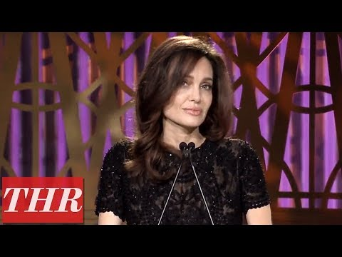 Angelina Jolie Full Speech at The Hollywood Reporter's Women in Entertainment 2017