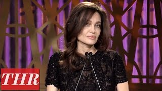 Angelina Jolie Full Speech at The Hollywood Reporter