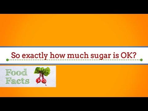 How much sugar is OK?