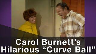 "Carol Burnett Threw This Hilarious ""Curve Ball"" at Harvey Korman"