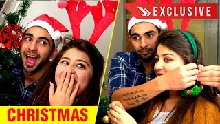 Adi & Ruhi FUN CHRISTMAS Celebration With TellyMasala | EXCLUSIVE INTERVIEW | Ye Hai Mohabbatein