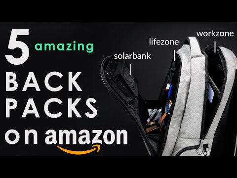 5 AMAZING Backpacks You Can Buy On AMAZON ◈ 2018 ◈
