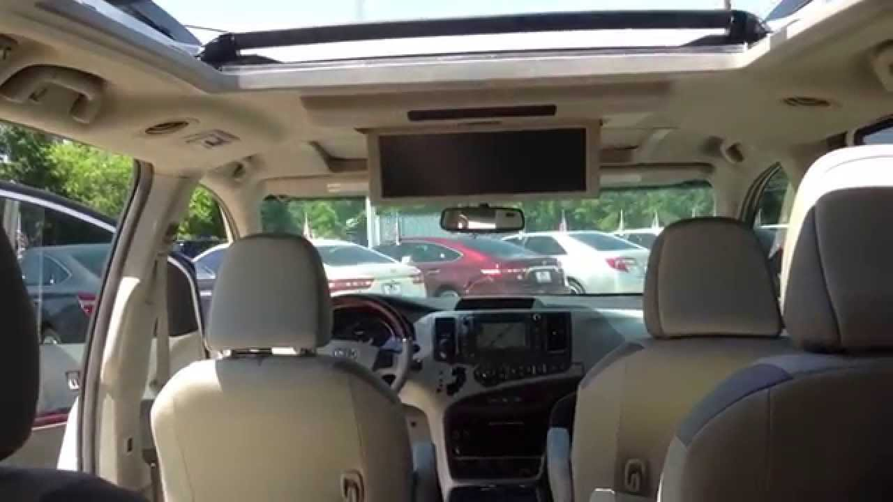 2013 Toyota Sienna Limited At Loving Toyota Youtube