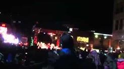 Christmas lighting ceremony at Crocker Park in Westlake, Oh
