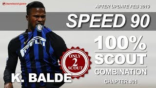 Top 3 fastest gold player in pes18 and their easy scout