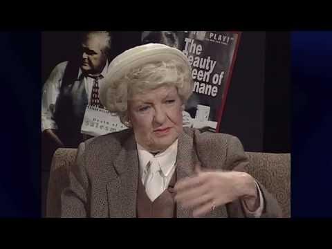 ELAINE STRITCH Discusses Her Friend NOËL COWARD on THEATER TALK