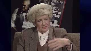 ELAINE STRITCH Discusses Her Friend NOËL COWARD on THEATER TALK