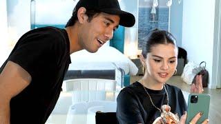 Selena Gomez Creates a Tik Tok w/ Zach King | Magic with Celebrities