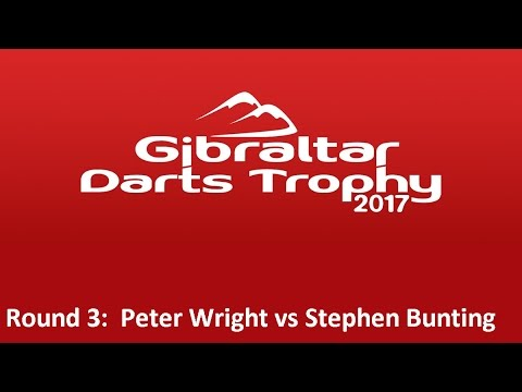 Gibraltar Darts Trophy 2017 - Round 3 [1of8]: Peter Wright v Stephen Bunting