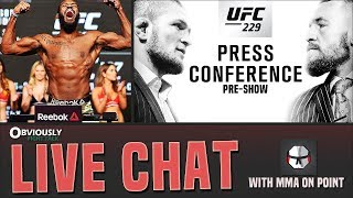MMA Live Chat: The MMA News Before The UFC 229  Presser, Jon Jones' Return