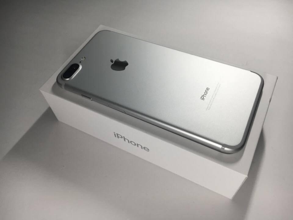 apple iphone 7 plus silver. apple iphone 7 plus silver