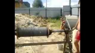 копка колодца 40 метров в луховицком районе(, 2012-06-29T16:17:30.000Z)