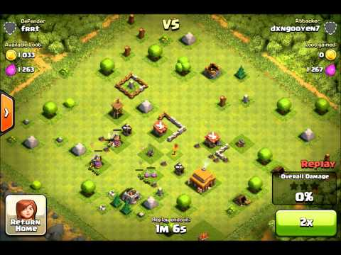 Clash of Clans - Play #5 - Gold Storage to Level 6!