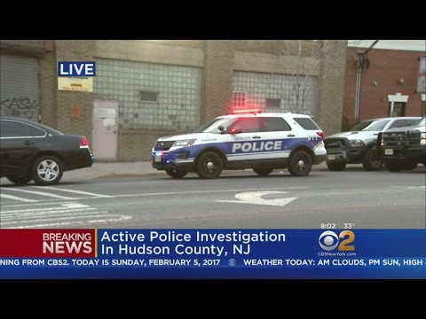 Police Investigation In Hudson County