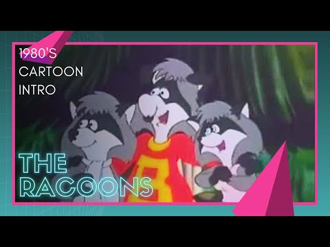 The Racoons 80's Kids TV Cartoon Intro - YouTube