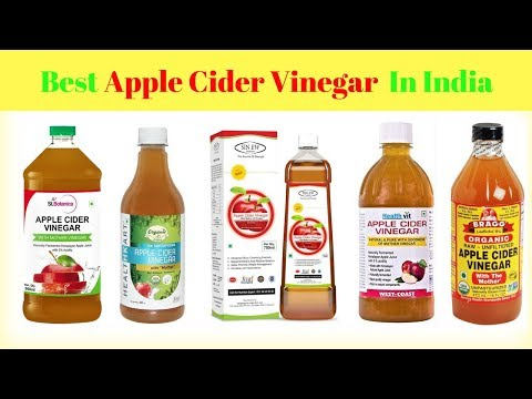 Best Apple Cider Vinegar Brands In India With Price 2018 I Popular Apple Cider Vinegar Brands