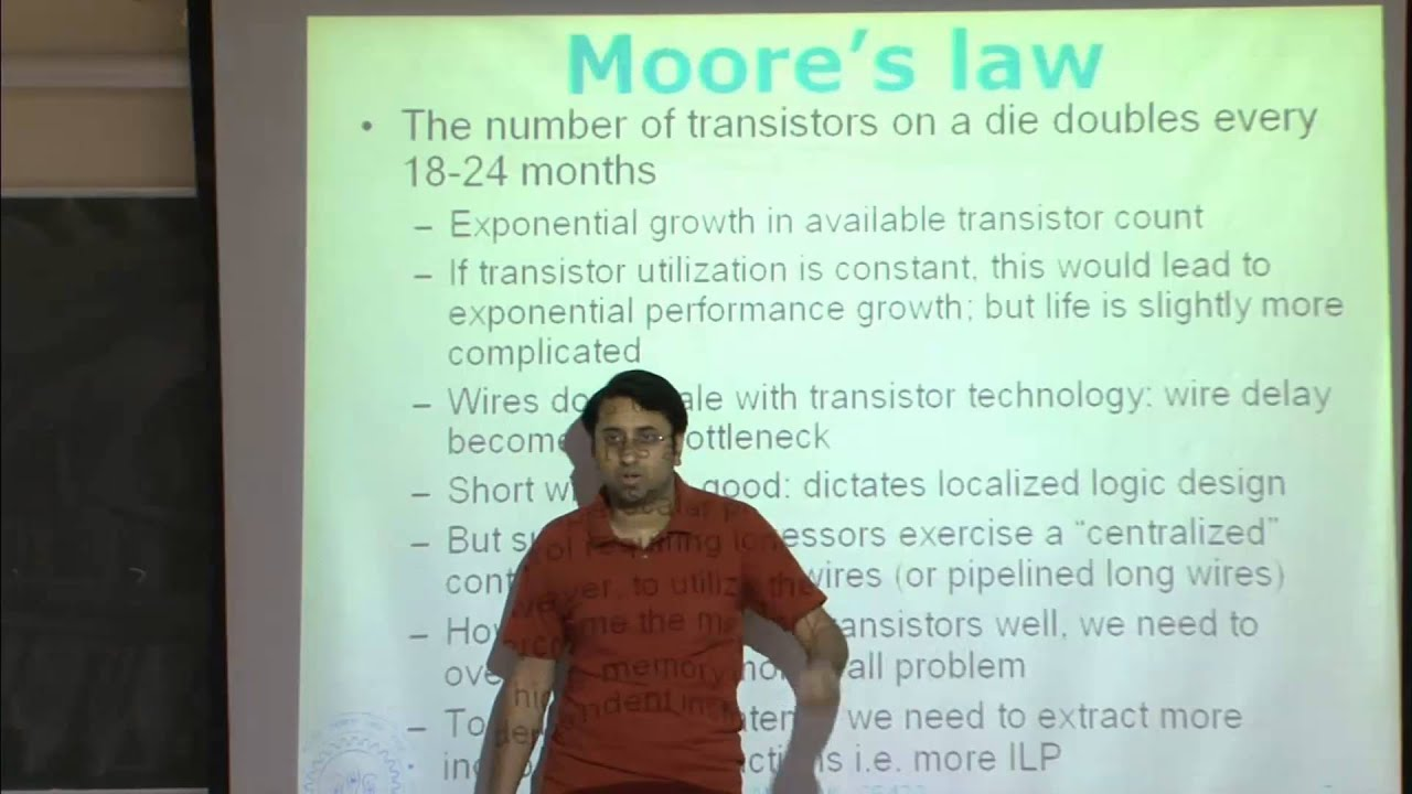 Mod-01 Lec-36 Simultaneous multithreading, multi-cores