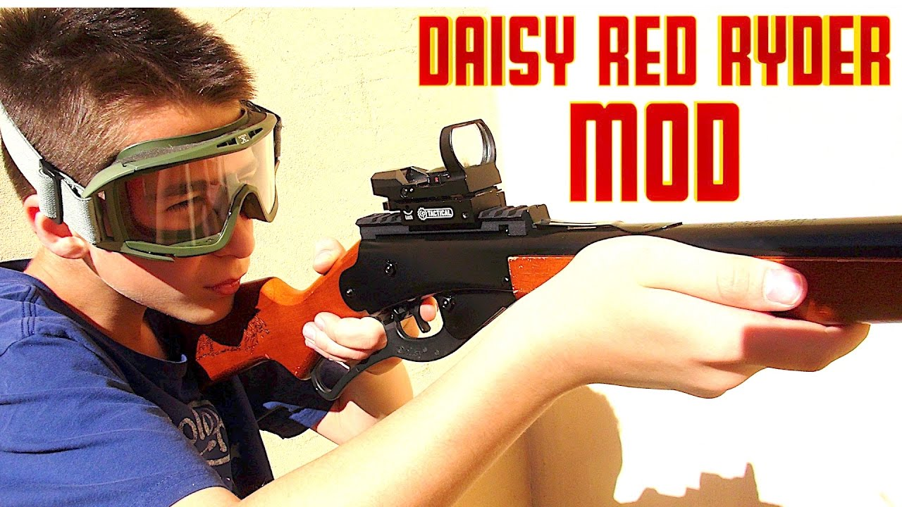 Daisy Red Rider Mod With Robert Andre Youtube