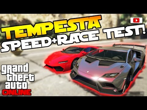 GTA 5 Online Import/Export Update: 🚘😲Pegassi Tempesta Speed Test + Race Test!😲🚘 [PS4 Gameplay]