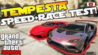 GTA 5 Online Import/Export Update: 🚘😲Pegassi Tempesta Speed Test + Race Test!😲🚘 [PS4 Gameplay]