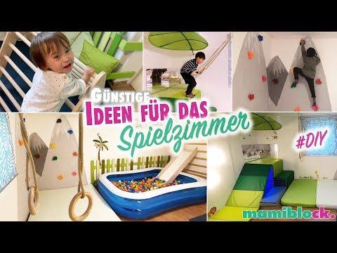 Gnstige Ideen fr das Spiel und Kinderzimmer  | DIY | Roomtour | mamiblock