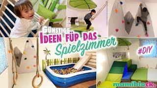 Günstige Ideen für das Spiel und Kinderzimmer 🐒🌴 | DIY | Roomtour | mamiblock