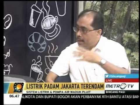 Penjelasan PLN Tentang Padam Listrik saat Banjir di Jakarta